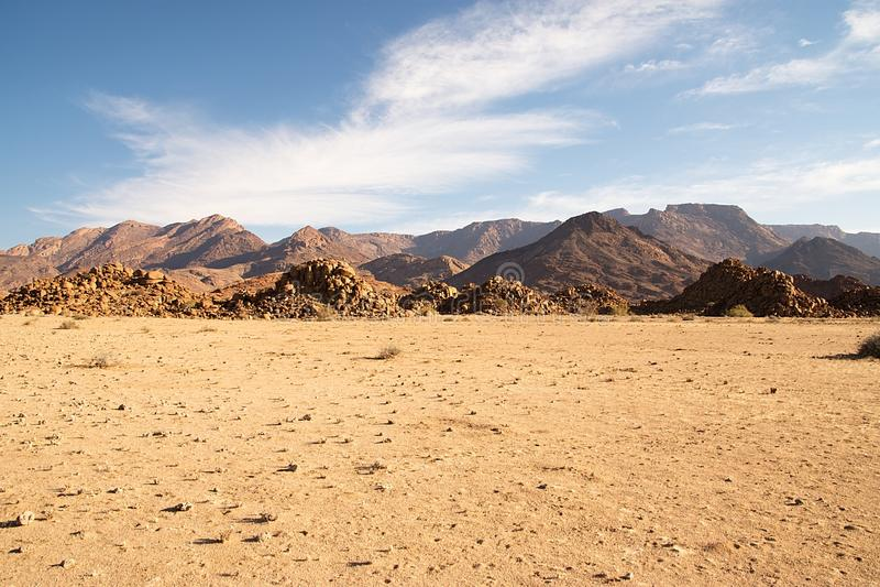 Paisaje de Namib fotos de archivo