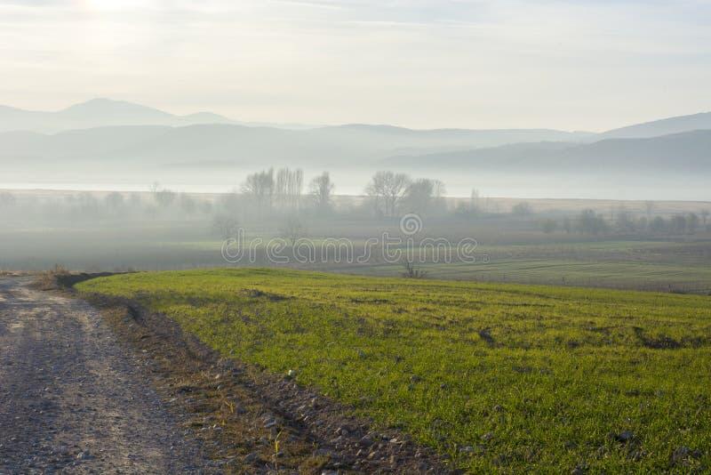 Download Paisaje De Niebla Con Las Montañas Foto de archivo - Imagen de árboles, west: 64200684