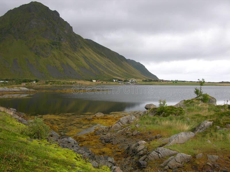 Paisaje de Noruega fotos de archivo