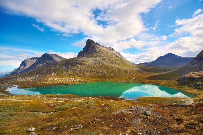 Paisaje de Noruega fotografía de archivo