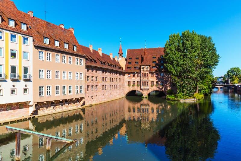 Paisaje de Nuremberg, Alemania fotografía de archivo libre de regalías