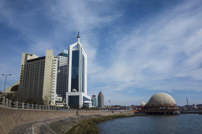 Paisaje de Qingdao foto de archivo libre de regalías