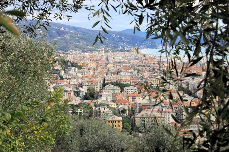 Paisaje De Riviera Foto de archivo libre de regalías