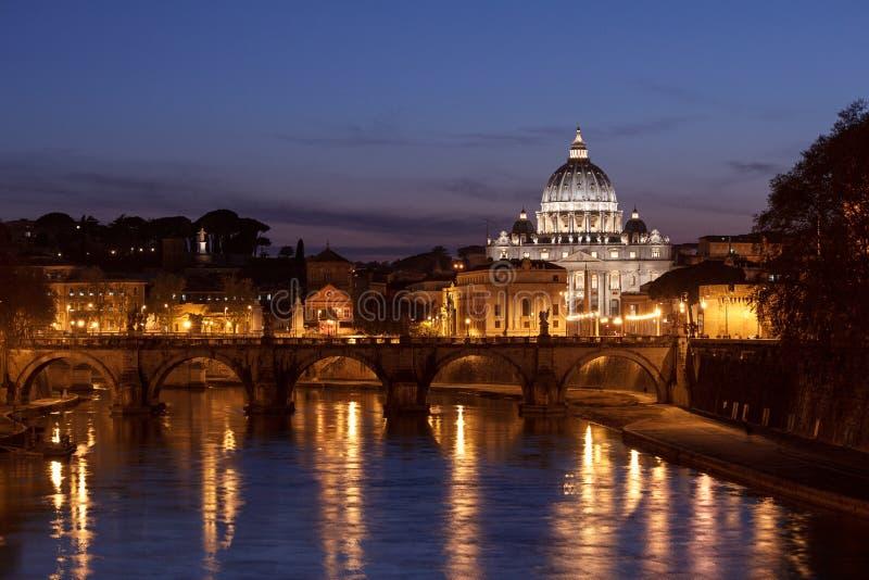 Paisaje de Roma fotos de archivo
