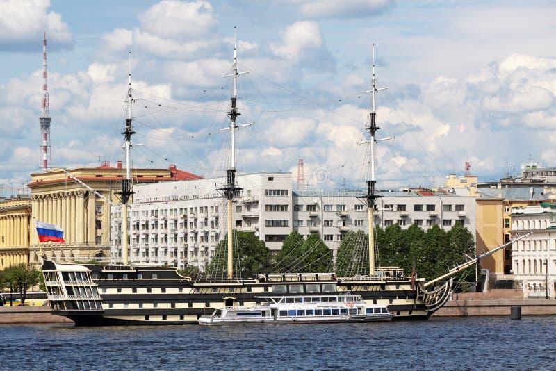 Paisaje de Sankt-Peterburg imagen de archivo libre de regalías