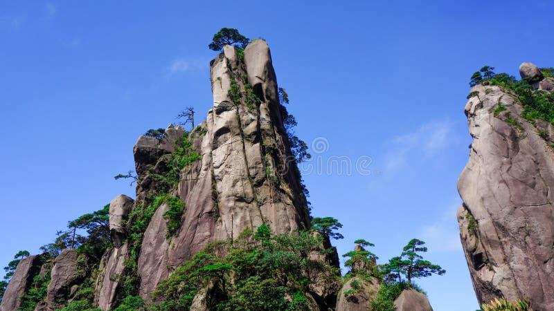 Paisaje de Sanqingshan del soporte de China fotos de archivo libres de regalías
