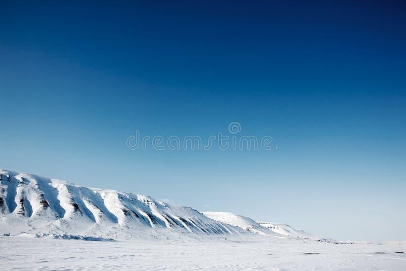 Paisaje de Svalbard foto de archivo libre de regalías