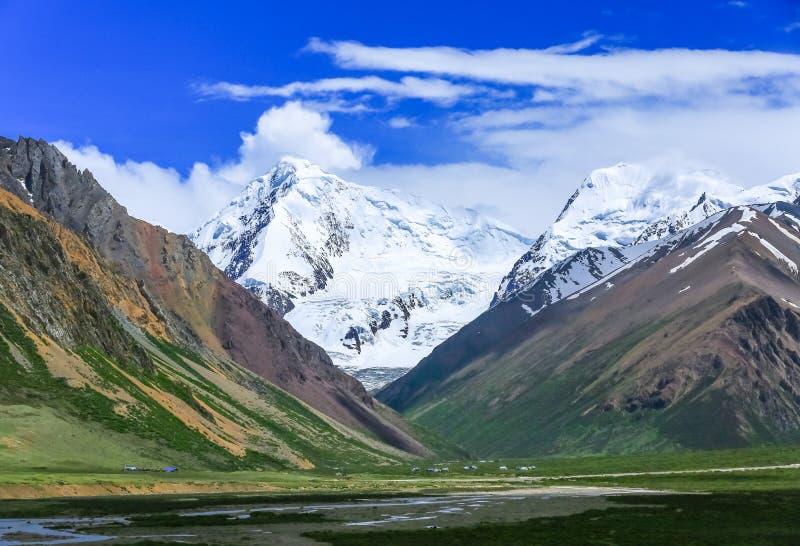 Paisaje de Tíbet imagen de archivo
