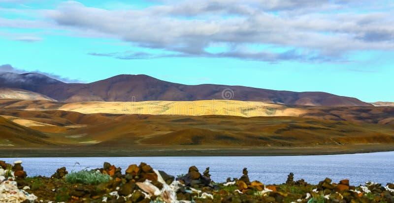 Paisaje de Tíbet Ali imagen de archivo libre de regalías