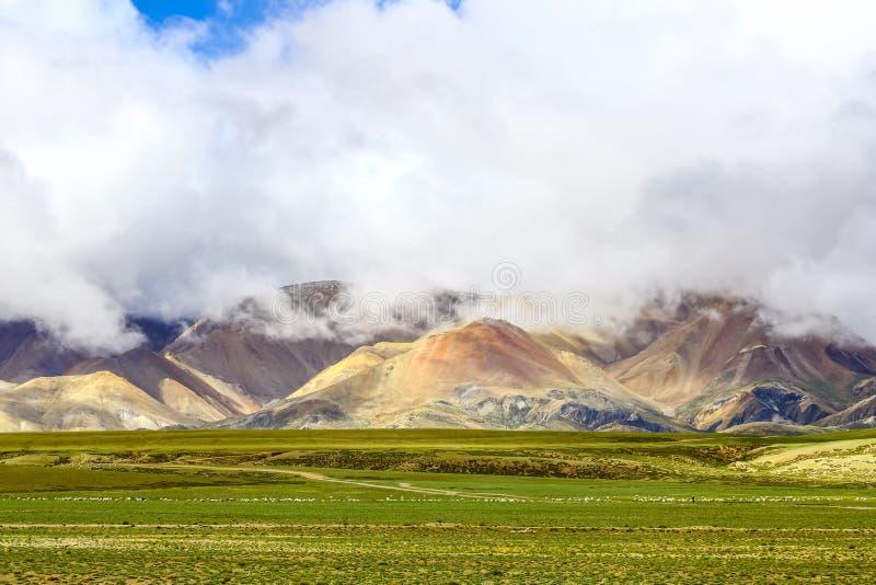 Paisaje de Tíbet Ali imágenes de archivo libres de regalías