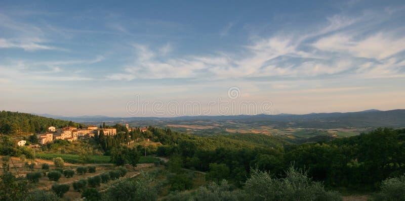 Paisaje de Toscana   fotos de archivo