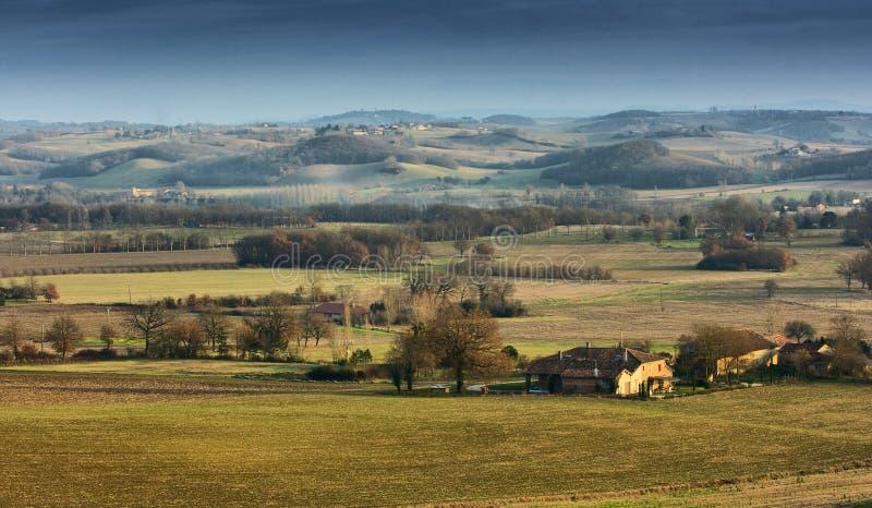 Paisaje de Toscana imágenes de archivo libres de regalías