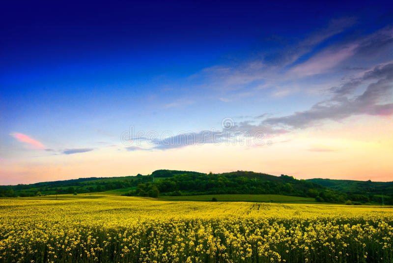 Paisaje de Transylvanian foto de archivo