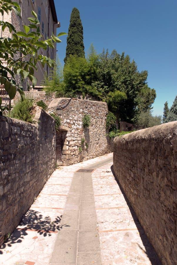 Paisaje de Umbría (Italia) imagenes de archivo