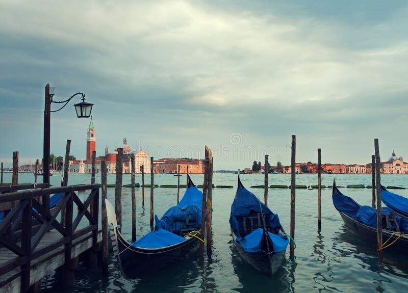 Paisaje de Venecia foto de archivo