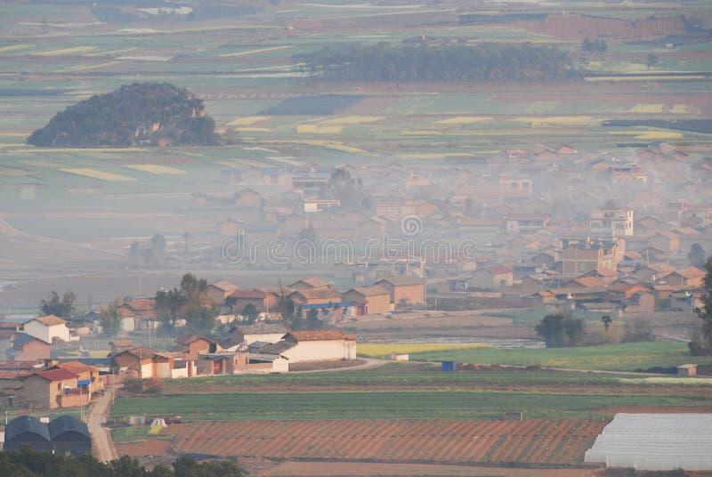 Paisaje de Yunnan fotografía de archivo libre de regalías