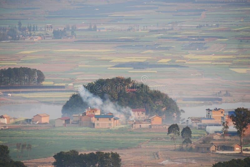 Paisaje de Yunnan imágenes de archivo libres de regalías