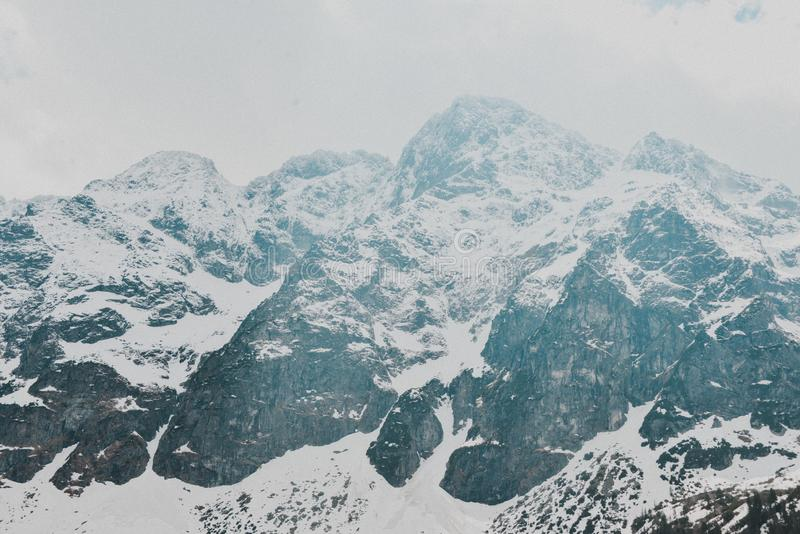 Paisaje de Zakopane de las monta?as de Tatry fotografía de archivo libre de regalías