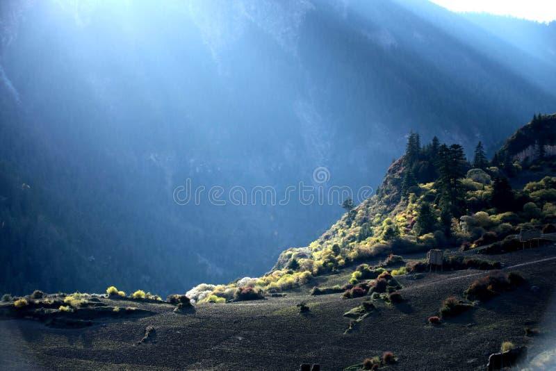 Paisaje de Zhagana en Gannan, ` s Gansu de China imagen de archivo