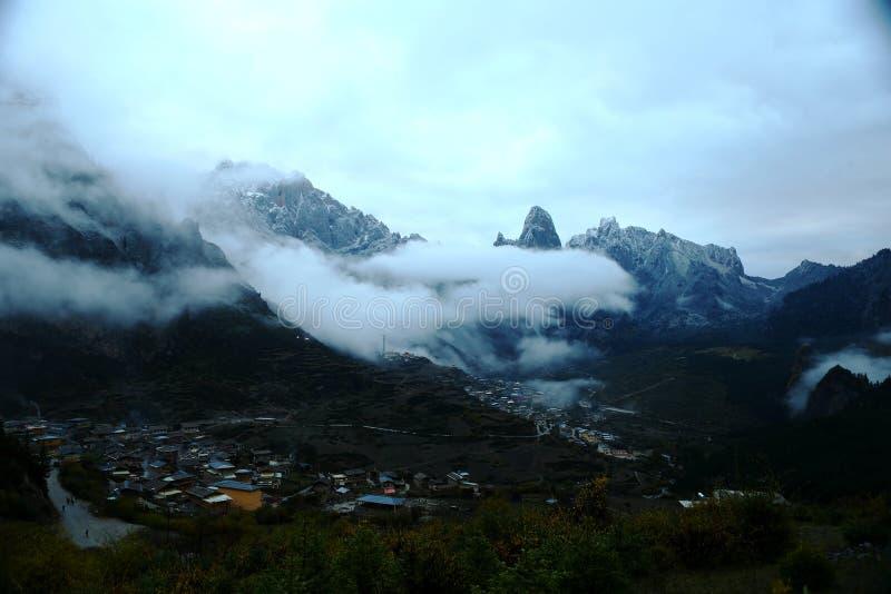 Paisaje de Zhagana en Gannan, ` s Gansu de China imagen de archivo libre de regalías