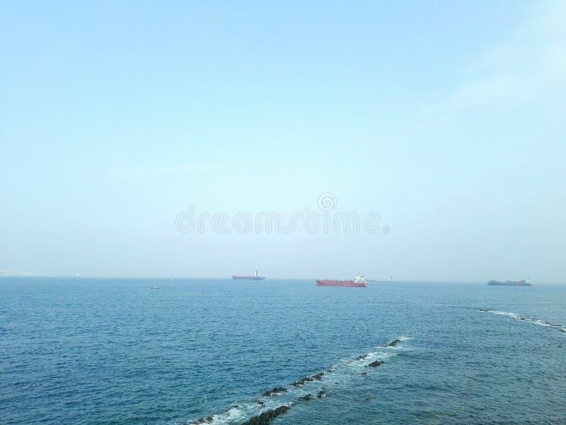 Paisaje del barco imagen de archivo libre de regalías
