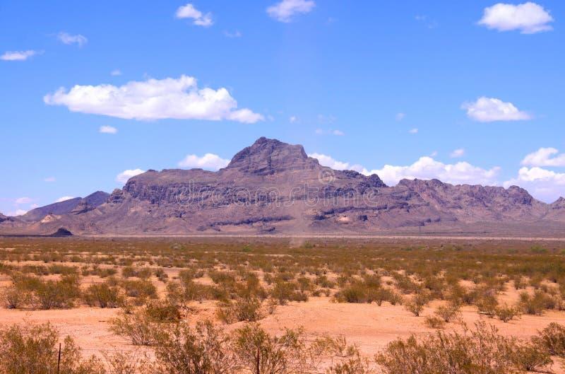 Paisaje del desierto fotografía de archivo
