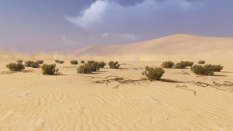 Paisaje 1 del desierto libre illustration