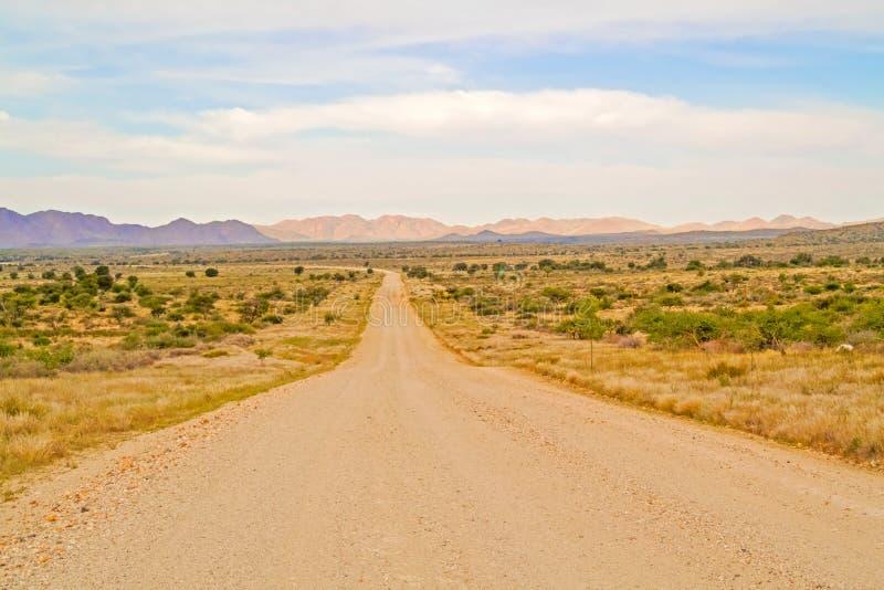 Paisaje del desierto de Namib en Namibia imagen de archivo libre de regalías