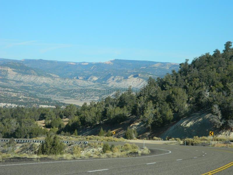 Paisaje del desierto de Utah fotografía de archivo