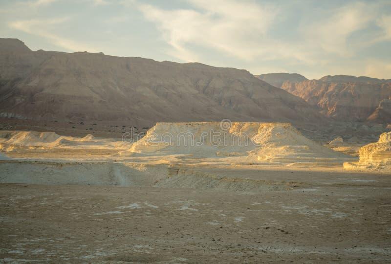 Paisaje del desierto, y formación de roca del marlstone imagen de archivo