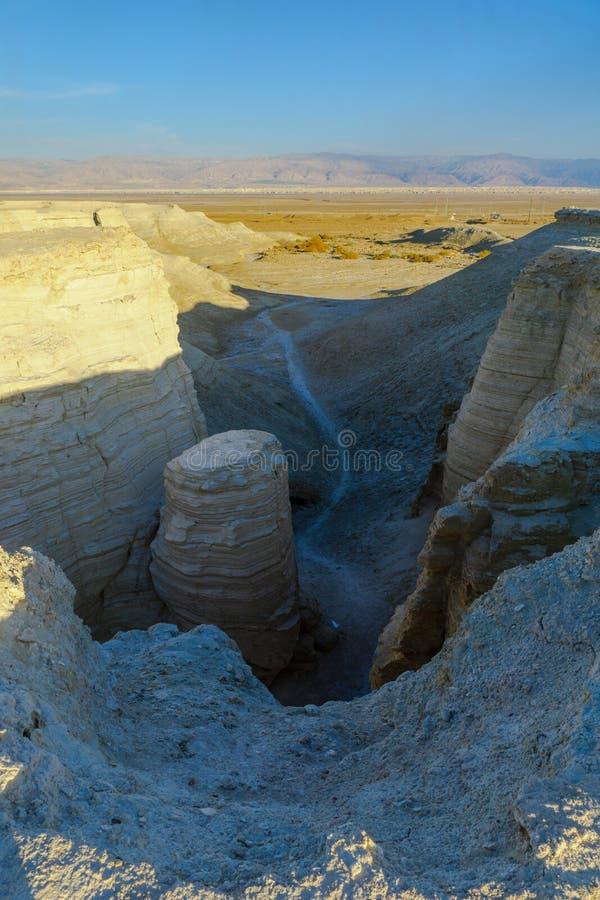 Paisaje del desierto, y formación de roca del marlstone fotos de archivo libres de regalías