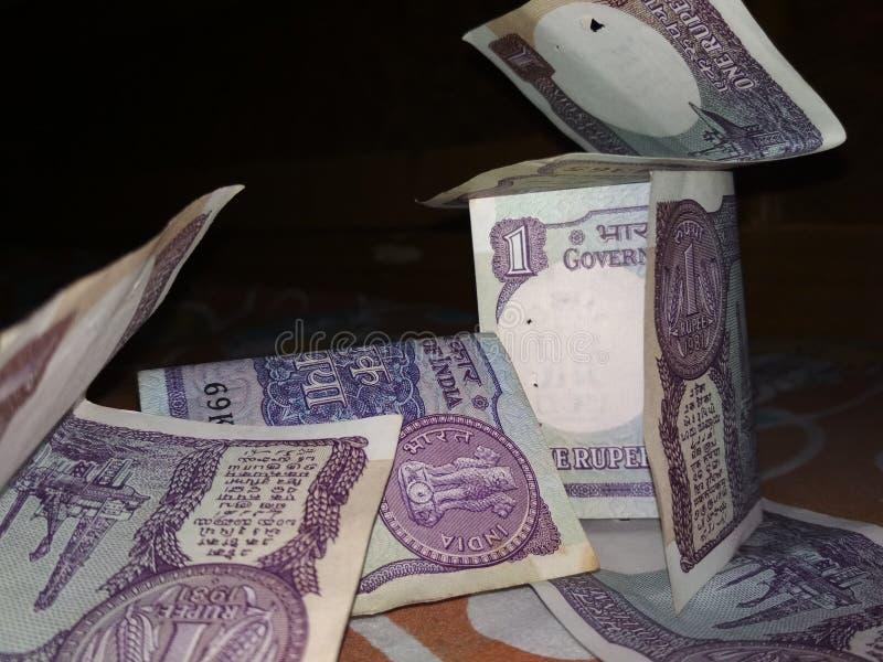 Paisaje del dinero fotografía de archivo