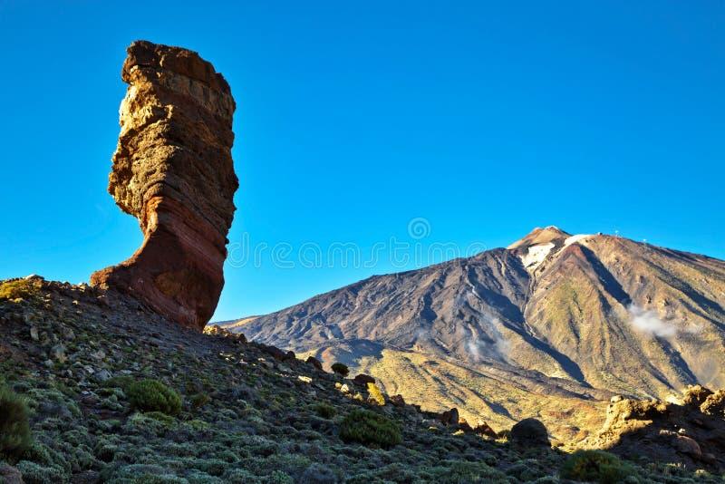 Paisaje del EL Teide imagenes de archivo