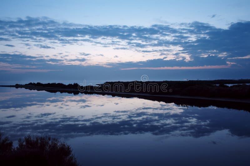 Paisaje del espejo imagen de archivo libre de regalías