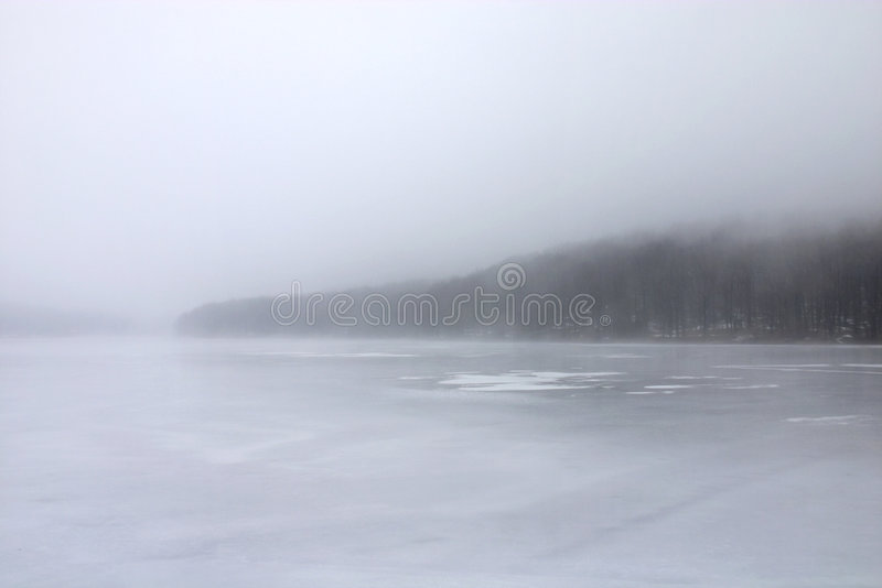 Paisaje del invierno fotografía de archivo libre de regalías