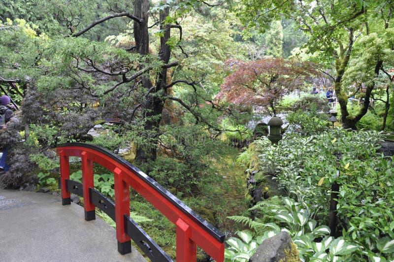 Paisaje del jardín fotografía de archivo libre de regalías