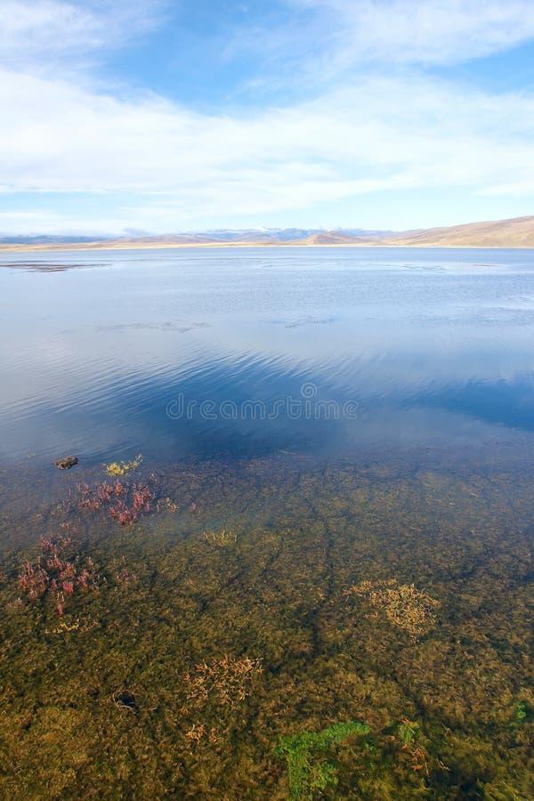 Paisaje del lago fotografía de archivo