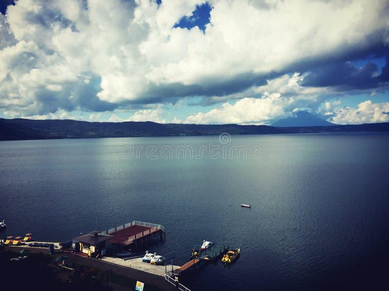 Paisaje del lago de Toya, Hokkaido, Japón fotos de archivo libres de regalías