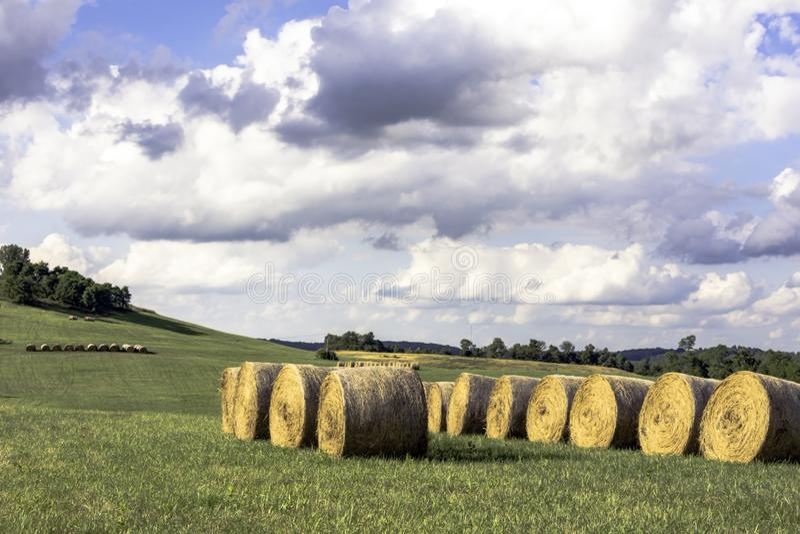 Paisaje del país de Ohio imagen de archivo
