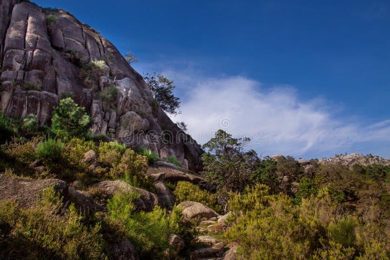 Paisaje del parque nacional de los geres de Peneda en Portugal imágenes de archivo libres de regalías