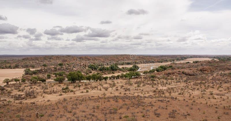 Paisaje del río del Limpopo fotografía de archivo libre de regalías