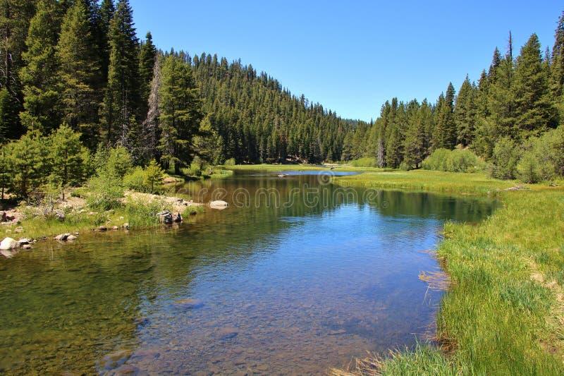 Paisaje del río Truckee imagen de archivo libre de regalías