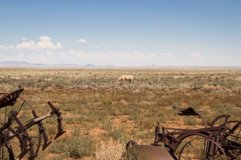 Paisaje en Arizona del este fotografía de archivo
