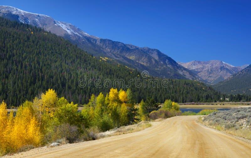 Paisaje en Colorado fotos de archivo
