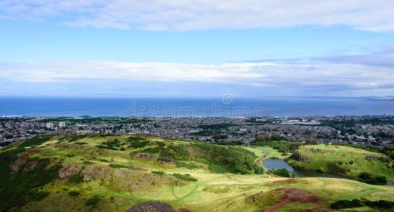 Paisaje en Edimburgo - Escocia imagen de archivo libre de regalías