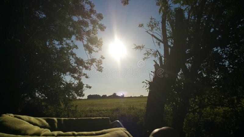 Paisaje en Holanda foto de archivo libre de regalías