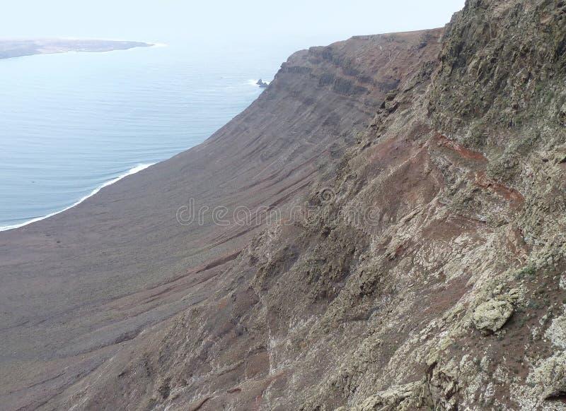 Paisaje En Lanzarote Fotos de archivo