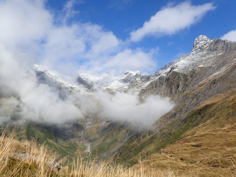 Paisaje en Nueva Zelandia imagen de archivo