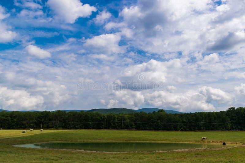 Paisaje escénico de Elkton, Virginia alrededor del nacional de Shenandoah imágenes de archivo libres de regalías