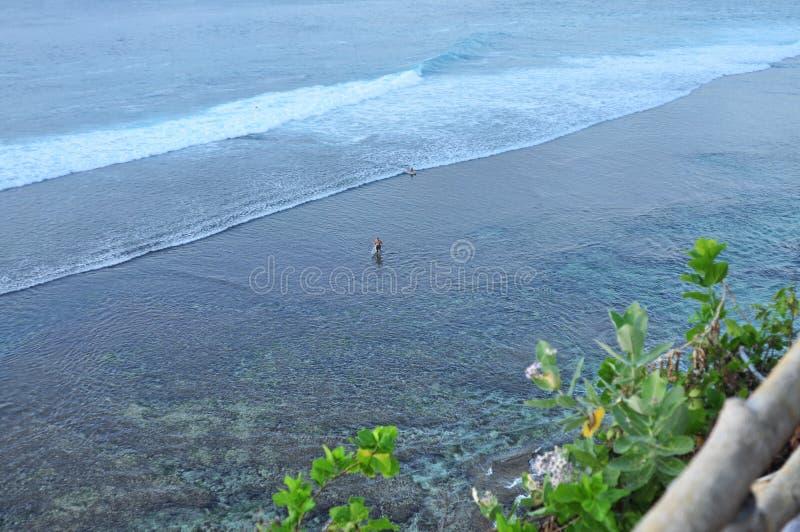 Paisaje escénico de la costa de Bali foto de archivo libre de regalías